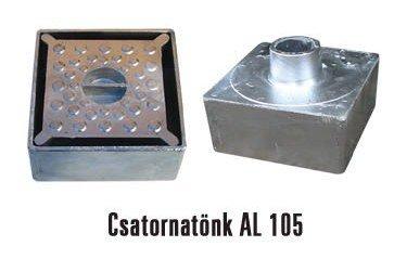 Alumínium csatornatönk 105-ös