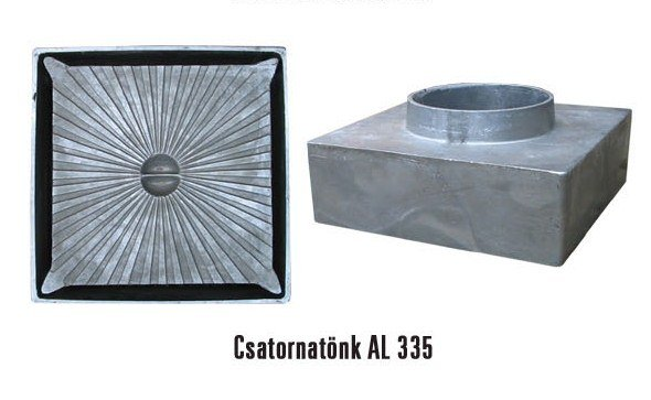 Alumínium csatornatönk 335-ös