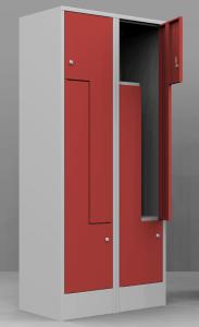 Öltözőszekrény Z ajtós