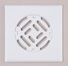 Fürdőszobai fedrács-fehér 200x200mm