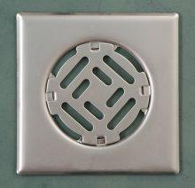 Fürdőszobai fedrács- rozsdamentes 150x150 mm