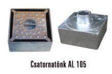 Csatornatönk 105-ös alumínium