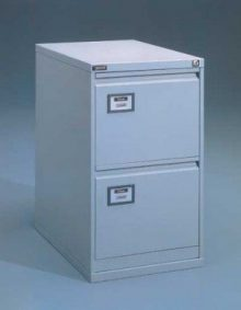 Függőmappa tároló- A/4 méret, 2 fiókos