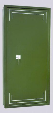 Fegyverszekrény 10 férőhelyes - minősített