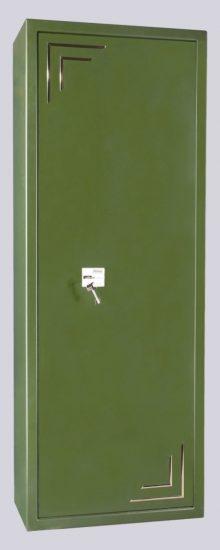 Fegyverszekrény 8 férőhelyes - minősített