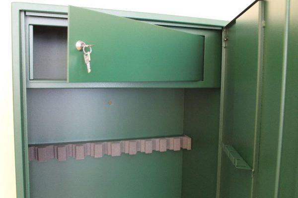 Fegyverszekrény 10 férőhelyes