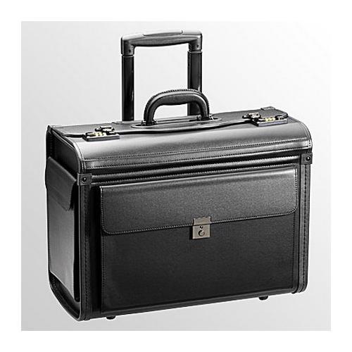 Pénzszállító táska- Pilóta műbőr húzókaros