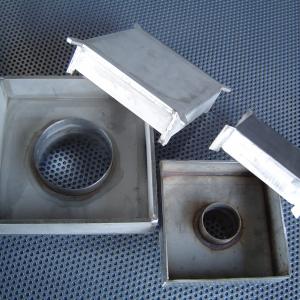 Csatornatönk rozsdamentes 150x150 mm